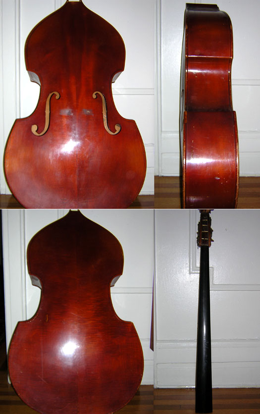 Pre W.W.II East German Ply Upright Bass